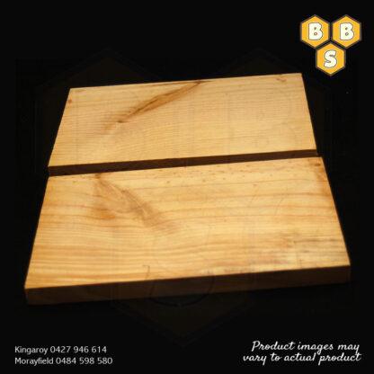 NATIVE BEE BOX TIMBER LID & BASE