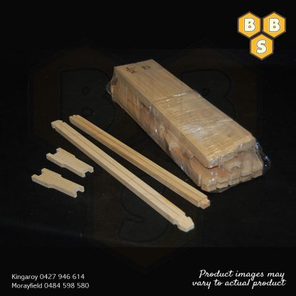 FRAMES HALF DEPTH THICK BOTTOM BAR PACK OF 10